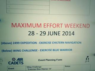 Maximum Effort weeke...